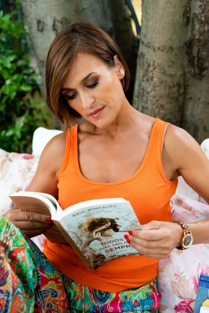 Fátima Lopes a ler