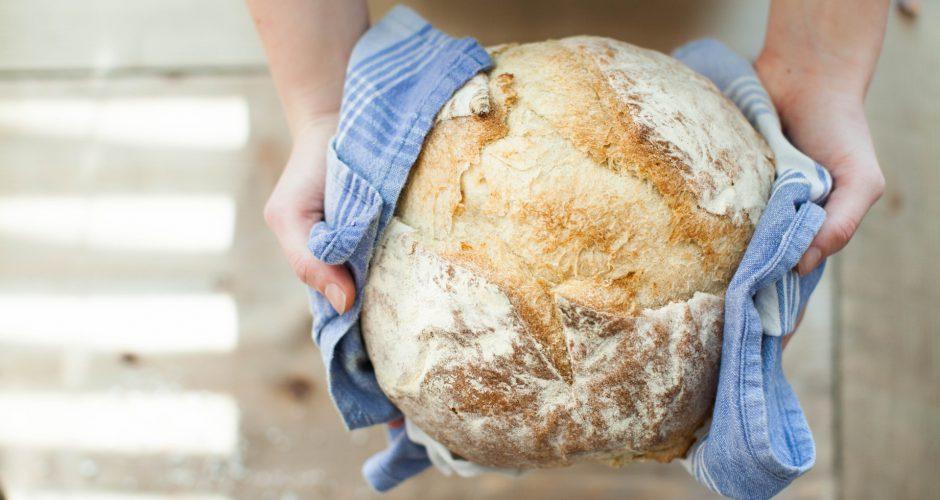 vamos fazer pão em casa