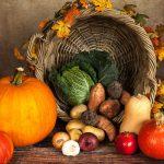 Frutas e vegetais de Outono